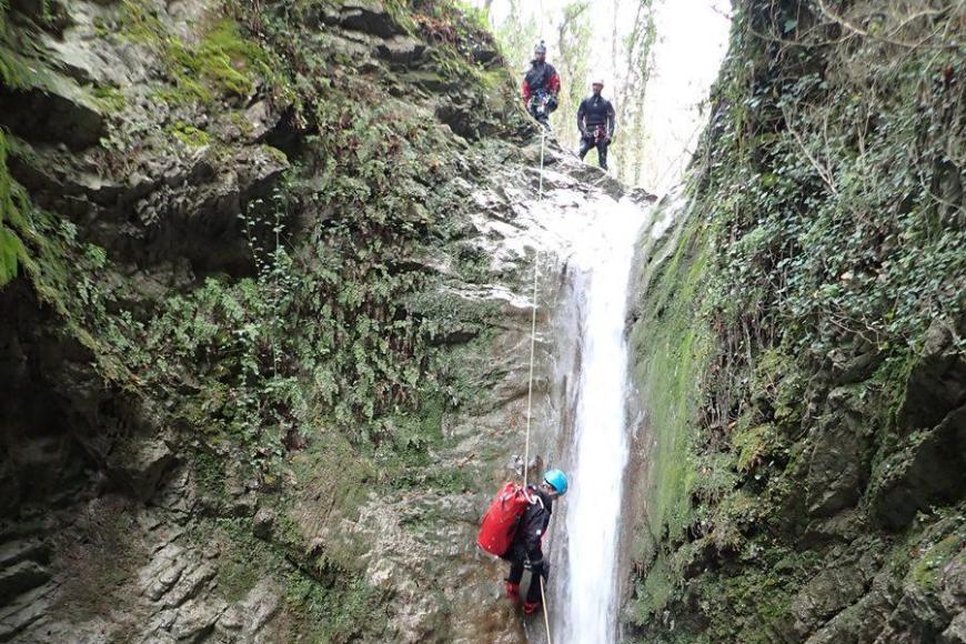 Reconnaissance des canyons de la Vésubie et de la Roya