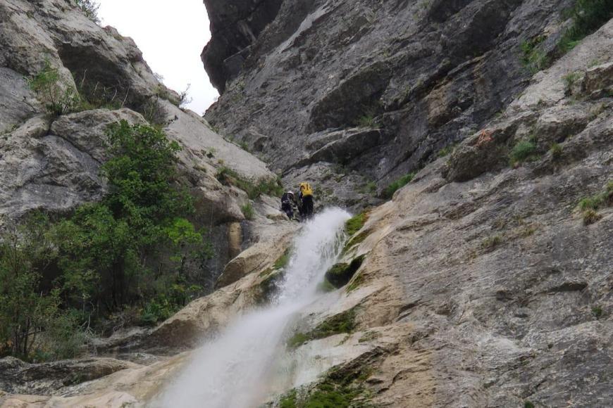 Canyon dans le Vercors
