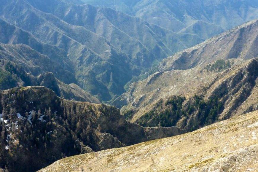 Expédition canyon dans le Vallon de la Bendola