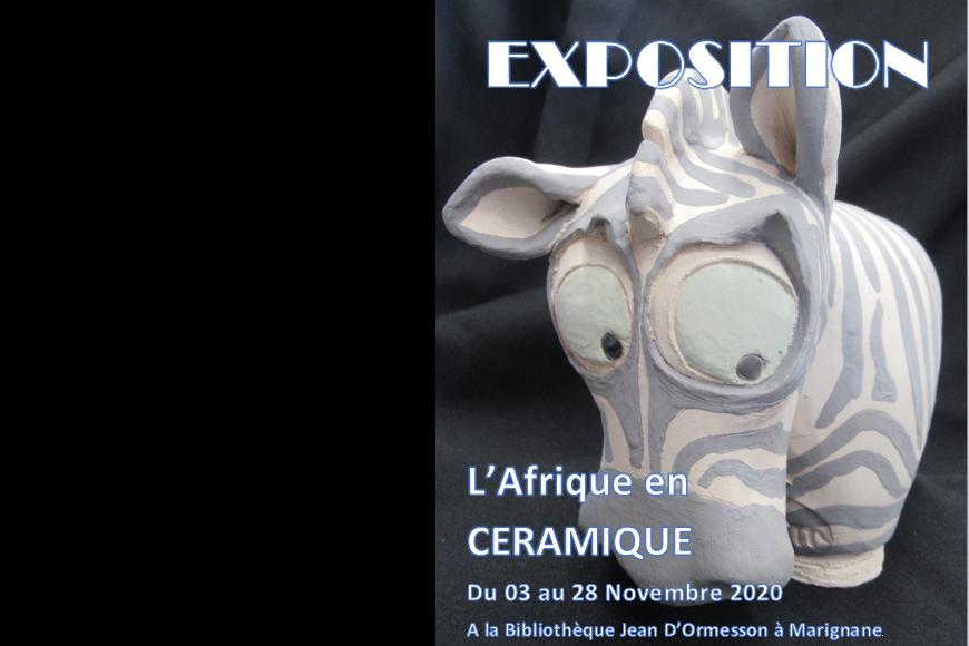 Exposition Céramique 2020 à Marignane